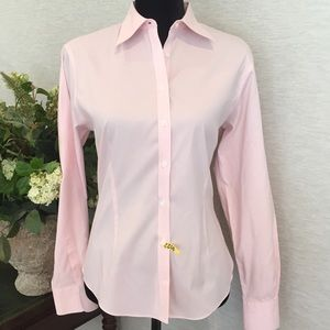 Brooks Brothers Tops - Brooks Brothers Sz 8 Light Pink Button Down